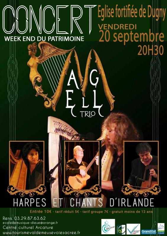 Affiche concert celtique