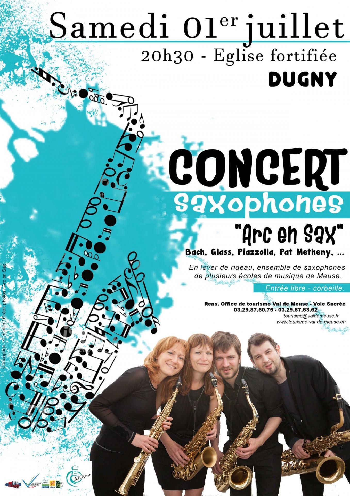 Affiche concert saxo web
