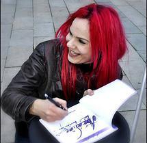 L'illustratrice Redpaln
