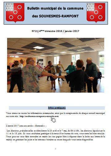 Bulletin n 11 page 1