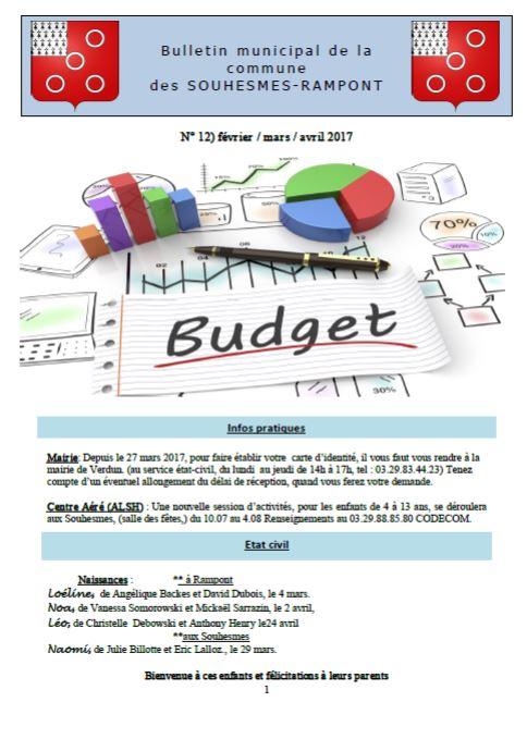 Bulletin n 12 page 1