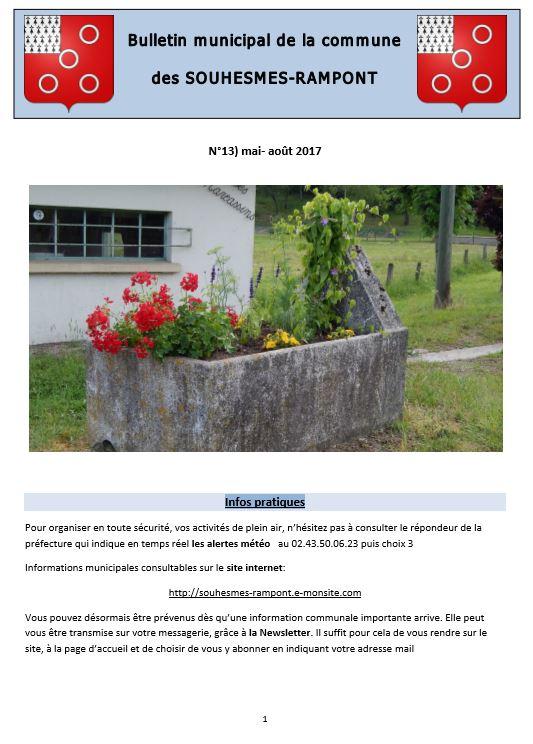 Bulletin n 13 page 1