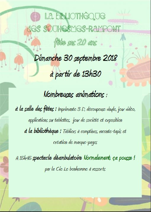 Flyer bibliotheque