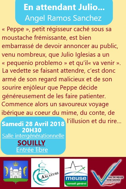 Flyer julio verso souilly