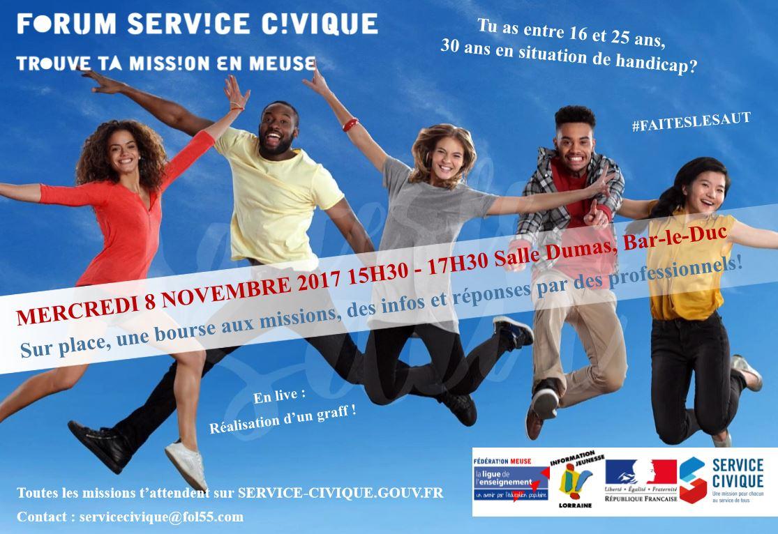 Forum service civique 2017