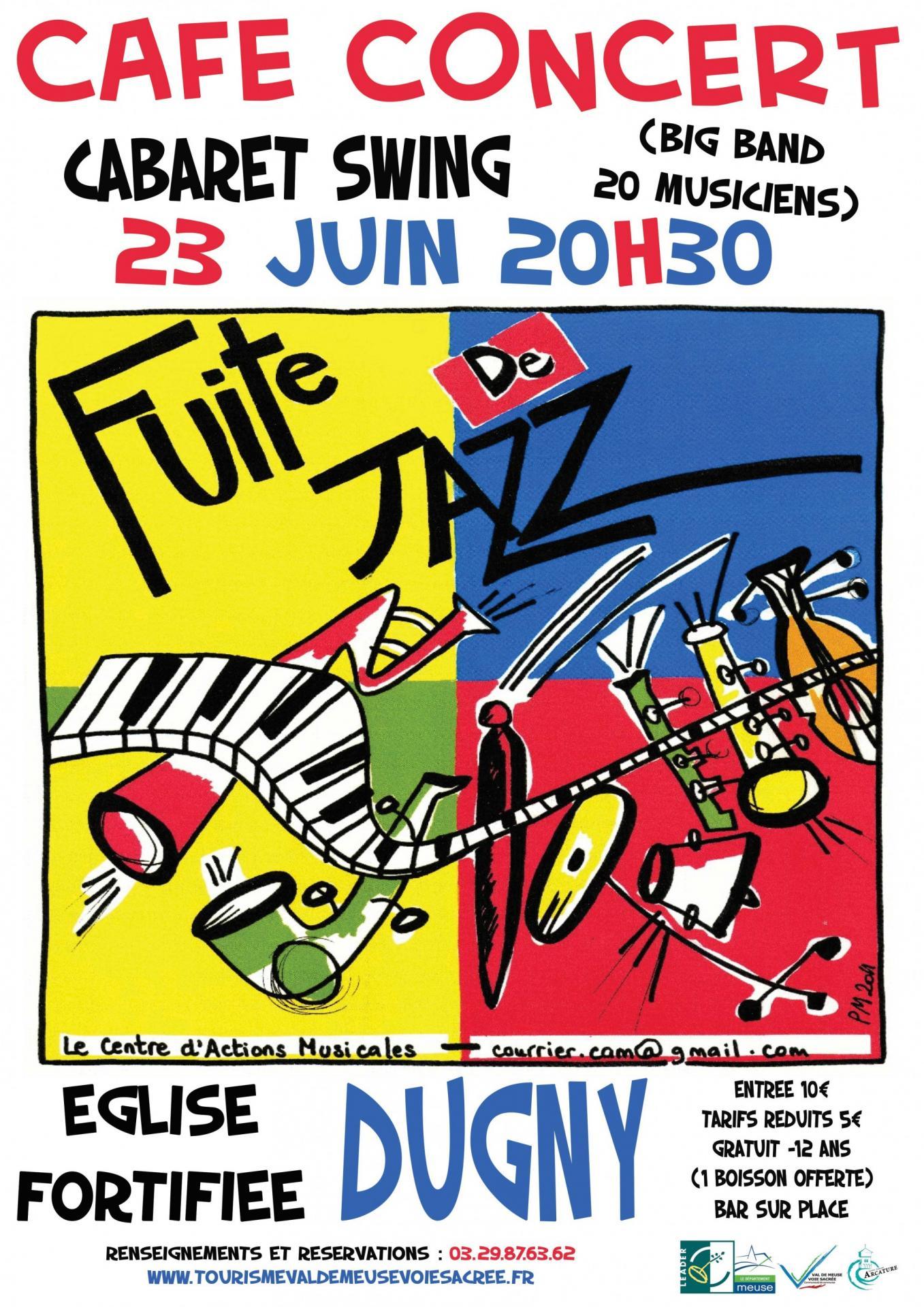 Fuite de jazz affiche web