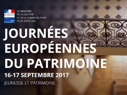 Journees du patrimoine 2017